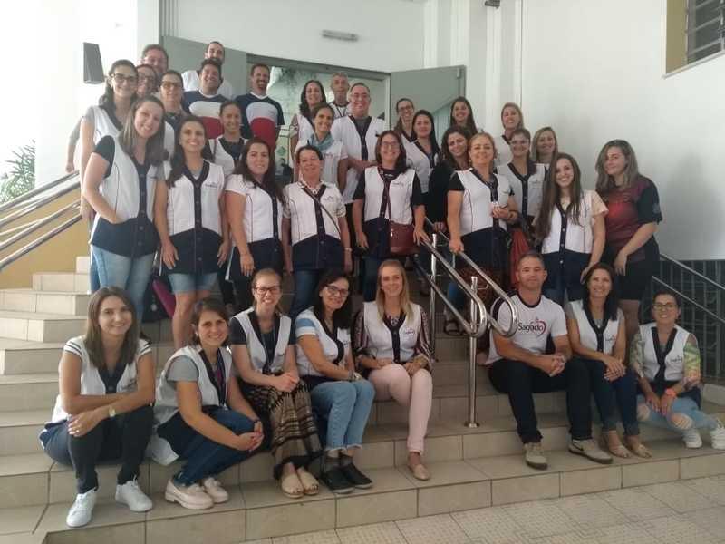 Educadores da Unidade Educacional Escola São Domingos participam de Formação Continuada