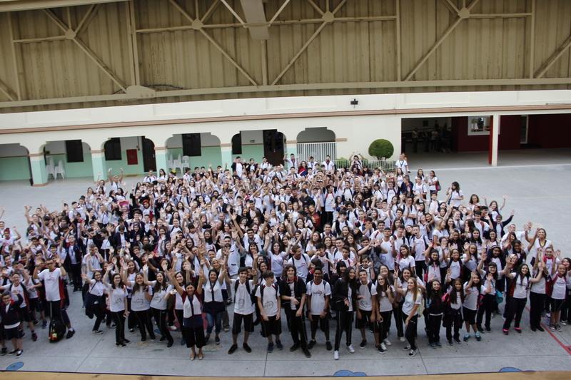 Volta às aulas 2019: educandos iniciam ano letivo no Colégio Sagrado, em Curitiba