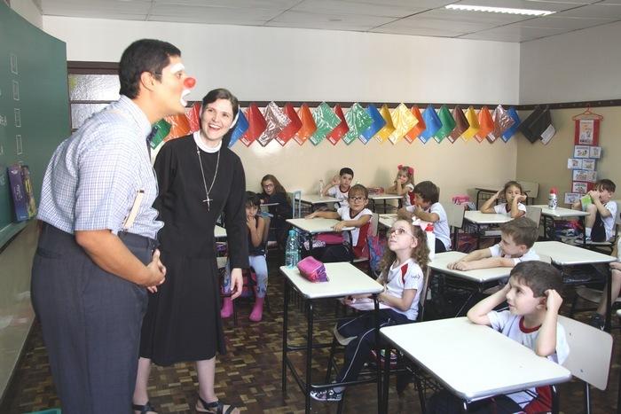 Serviço de Pastoral Escolar realiza primeira intervenção com Educação Infantil e 1ºs anos