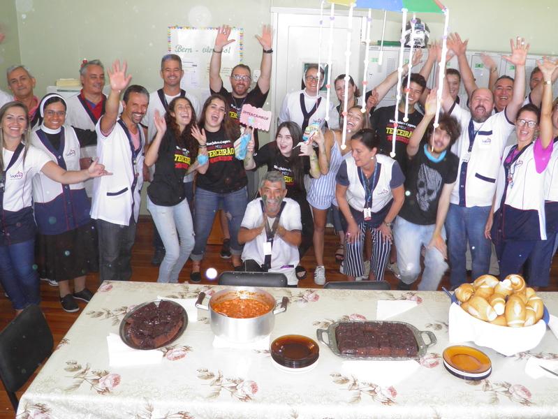 Café dos Calouros movimenta a Unidade Educacional Escola São Domingos