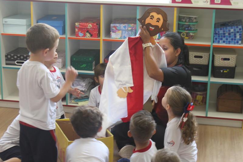 Presença da Pastoral Escolar na Educação Infantil
