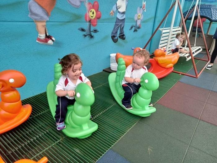 Infantil II: Um novo caminhar para os pequenos