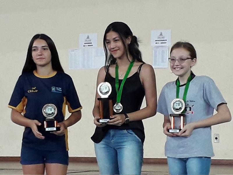 Educanda do Sagrado PG é campeã geral do Circuito Rápido de Xadrez