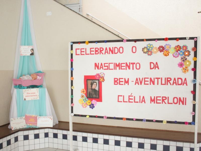 Celebrando o Nascimento da Bem-Aventurada Clélia Merloni