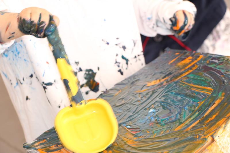 Descobrindo as cores e técnicas de Jackson Pollock