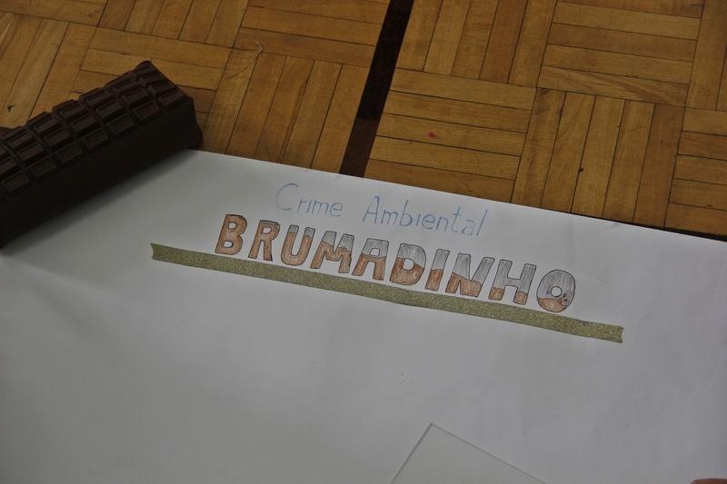 Educandos do 6º ano fazem trabalho de Ciências sobre o desastre em Brumadinho