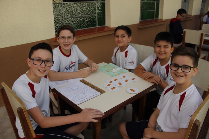 6º ano desenvolve jogos de tabuleiro para avaliar os conhecimentos sobre as operações matemáticas
