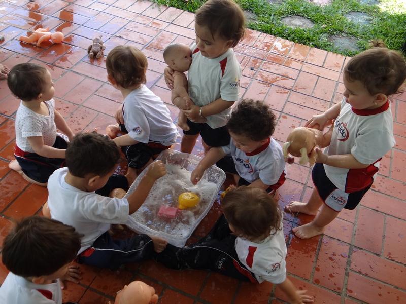 Infantil I descobre a importância da prática diária dos hábitos de higiene pessoal