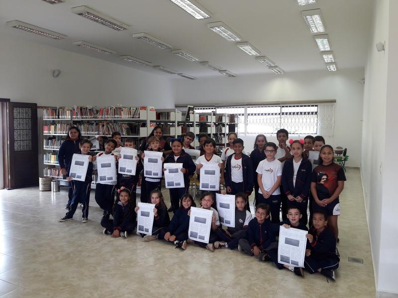 Educandos da Escola Social Coração de Jesus criam o Jornal do Sagrado