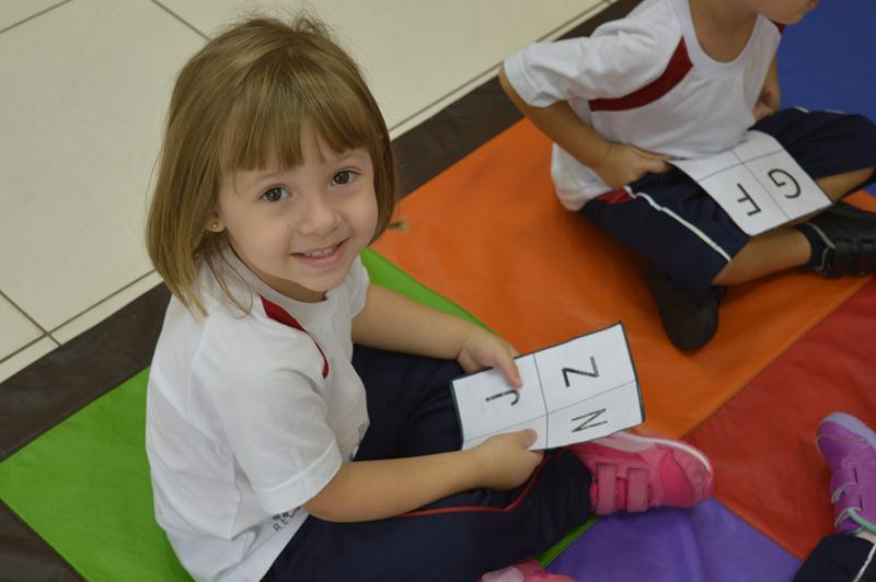 Infantil III - Bingo de Letras