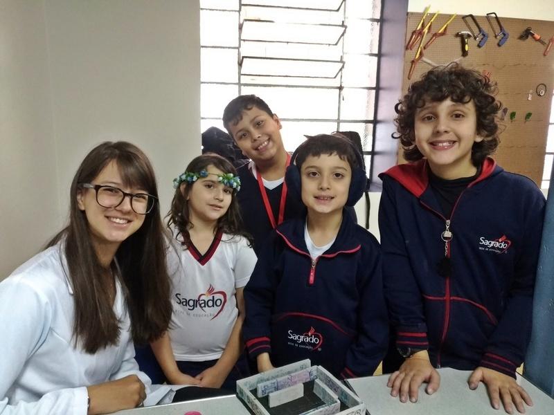 Educandos do Período Integral desenvolvem Projeto Maker na aula de Robótica