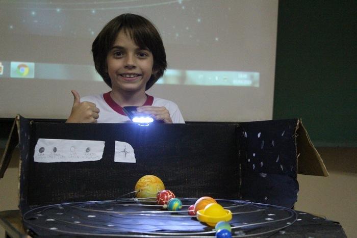 Vivenciando a Ciência: uma viagem pelo Sistema Solar