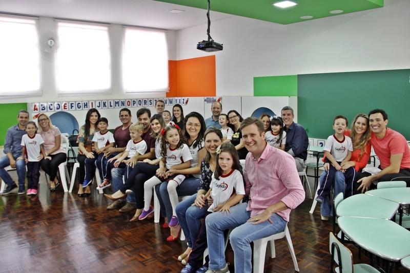Colégio Sagrado Coração de Jesus, em Curitiba, inaugura mais uma turma do Infantil V