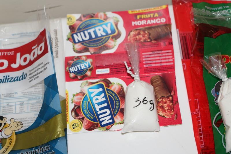 Quantidade de Açúcar presente em diferentes alimentos