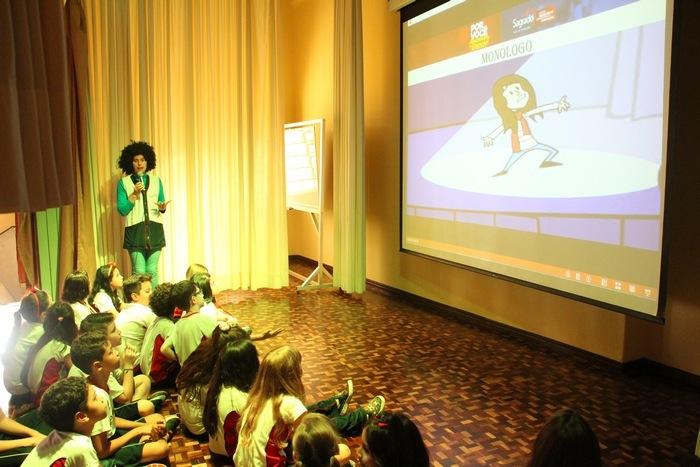 Ano Literário: apresentação para os educandos dos 3ºs aos 7ºs anos