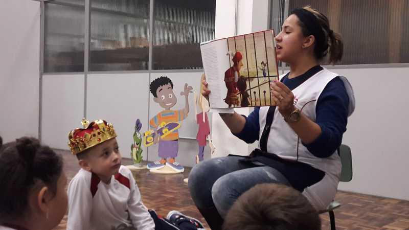 Contação de Histórias estimula gosto pela leitura na Educação Infantil e no Ensino Fundamental I