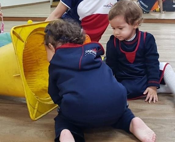 Aula de Linguagem Corporal - Infantil I