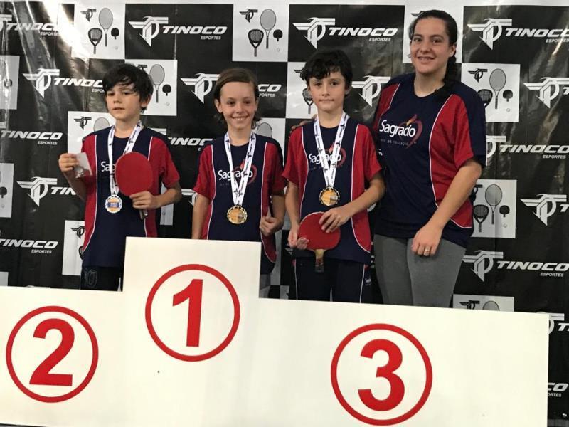 Participação dos educandos no Torneio de Tênis de Mesa em Caxias