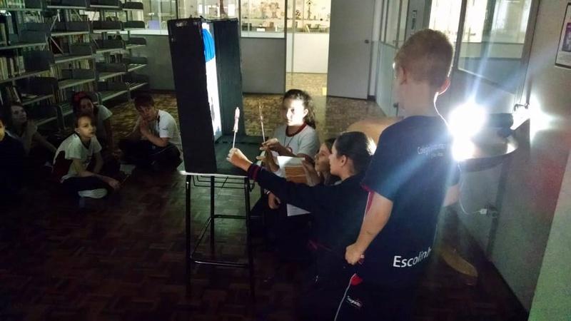 Ano Literário 2019 e Ensino Religioso: educandos dos 6ºs anos apresentam trabalho por meio do Teatro de Sombras