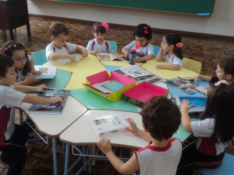 Infantil II e os Gêneros Textuais: descoberta, aprendizagem e diversão