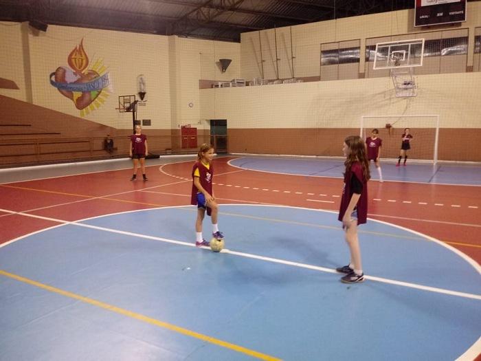 Treinamento de Futsal Feminino