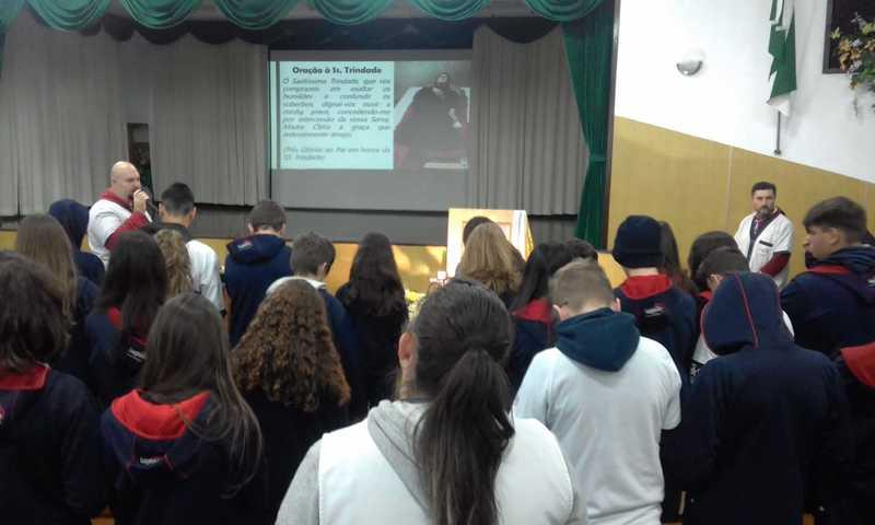 Serviço de Pastoral Escolar promove bate-papo sobre a vida, obra e santidade de Madre Clélia
