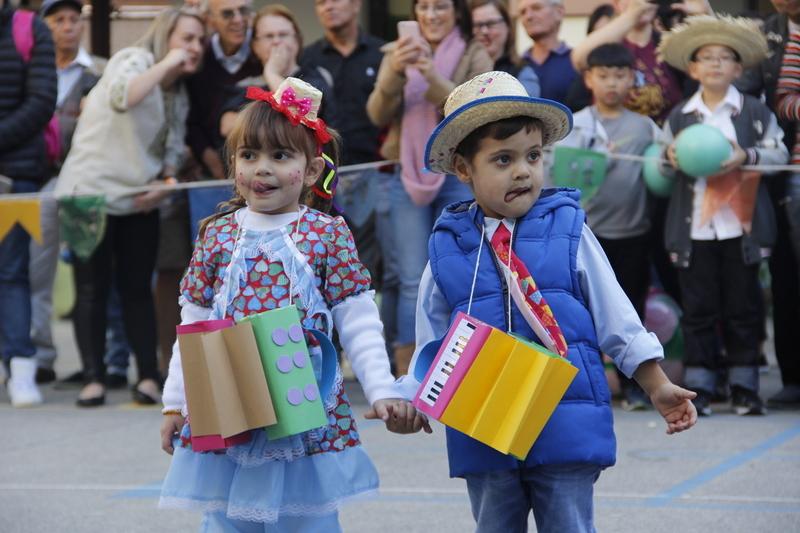 Educandos encantam público do Festival Folclórico 2019 com apresentações de danças típicas