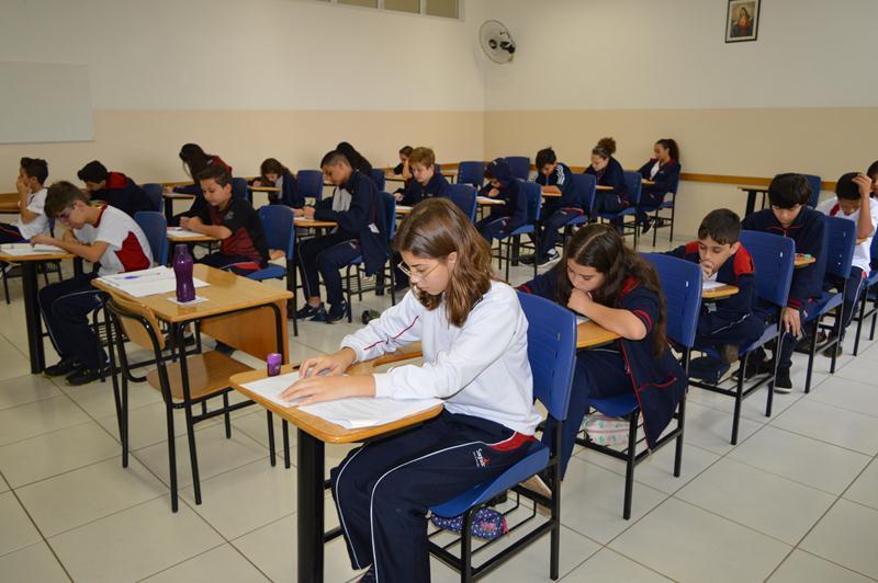 Educandos participam da Olimpíada de Matemática 2019