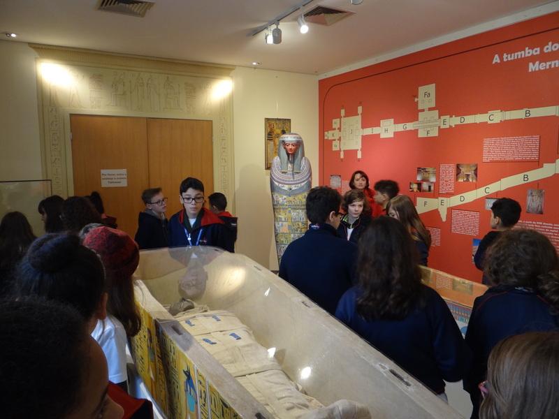 Visita ao Museu Egípcio e Rosacruz