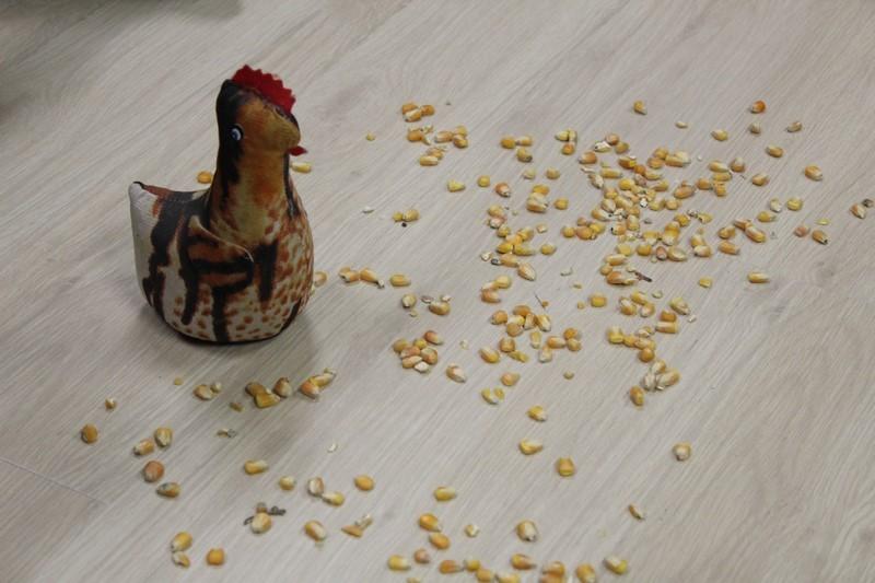 A galinha ruiva e seus ensinamentos