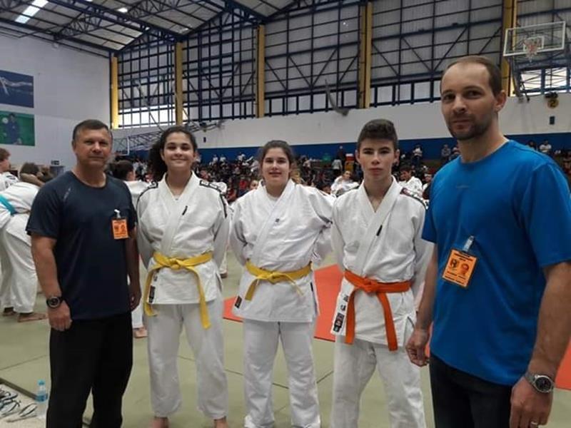 Sagrado PG no Campeonato Paranaense de Judô