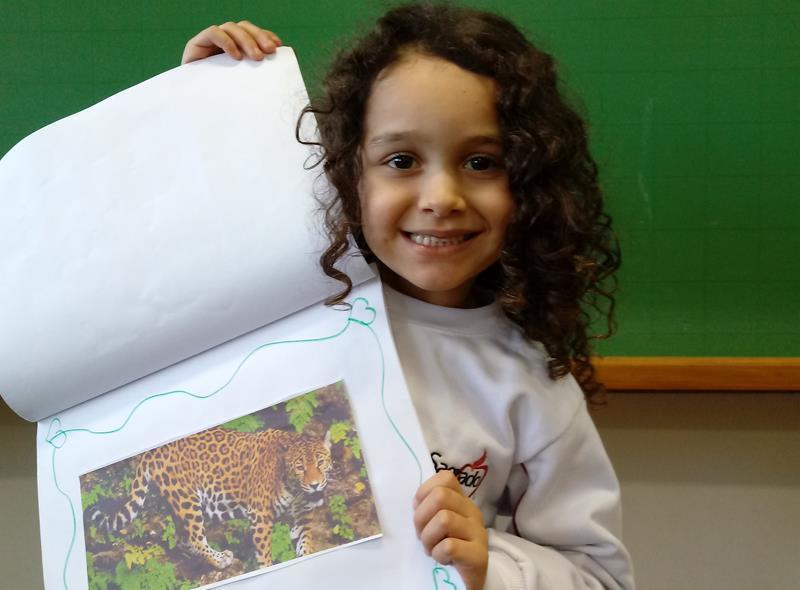 Fauna Brasileira é tema de atividade do Infantil V