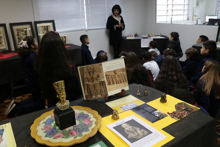 Exposição sobre o Egito Antigo