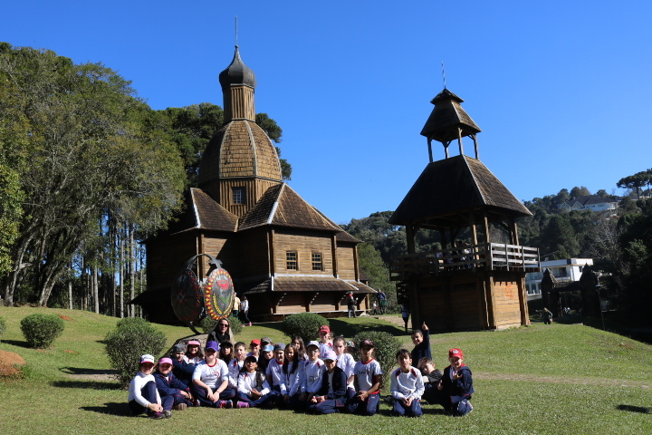 Aula de Campo - City Tour com os 3ºs anos