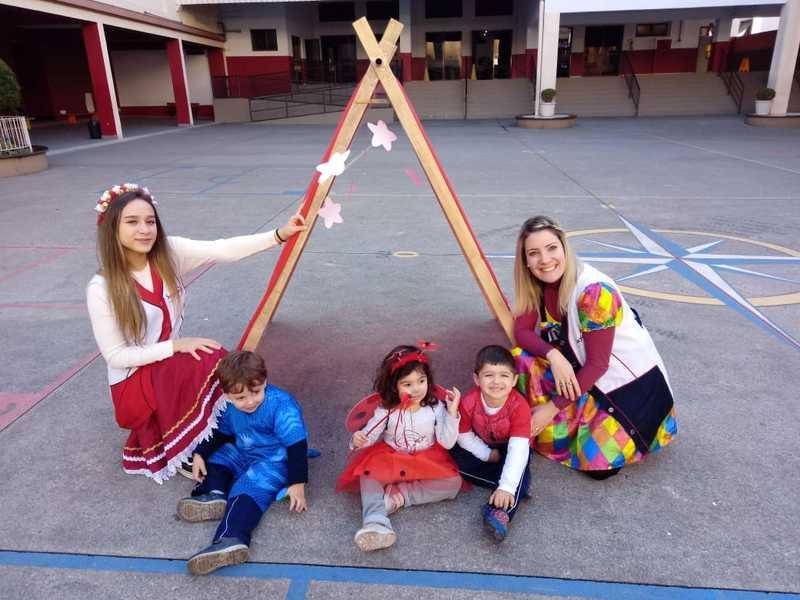 Infantil II encerra 1º semestre letivo com semana de atividades especiais