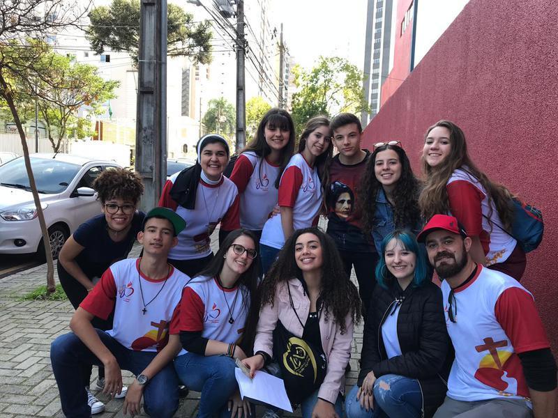 Educandos do Colégio Sagrado participam da Missão Cleliana 2019 em Navegantes/SC