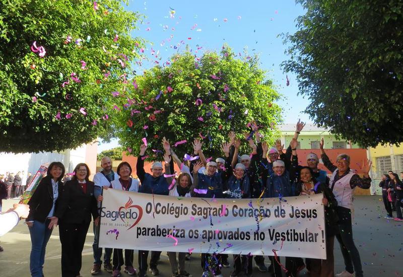 Educandos do SAGRADO são aprovados no Vestibular de Inverno da UEPG