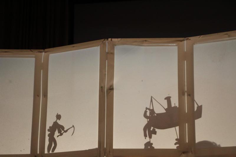 """Ano literário """"Teatro de sombras"""""""