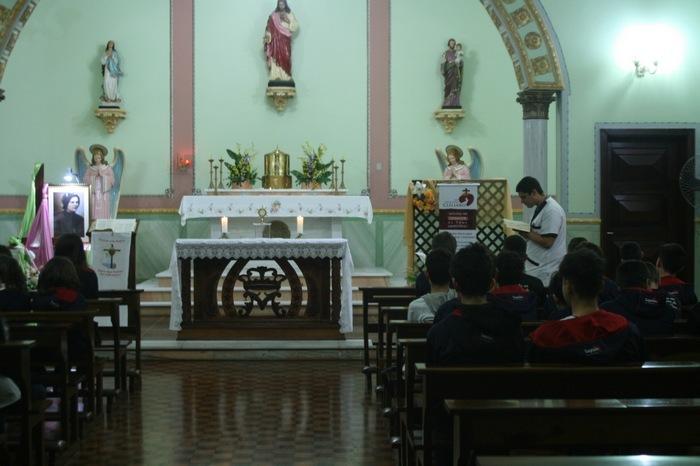 Adoração a Jesus Eucarístico