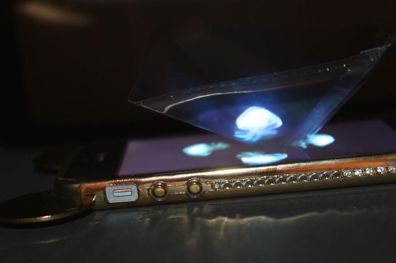 A luz - importância e holografia