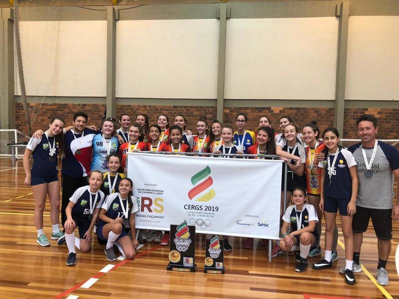Unidade Educacional Escola São Domingos é Tri Campeã do Campeonato Estudantil do Rio Grande do Sul  - CERGS