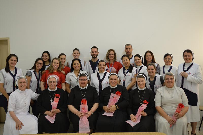Nova Esperança recebe visita das Irmãs do Governo Geral da Congregação das Apóstolas do Sagrado Coração de Jesus