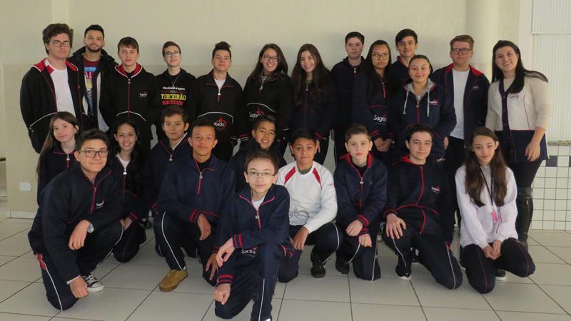 Educandos do SAGRADO são aprovados para a segunda fase da 7ª OPMAT