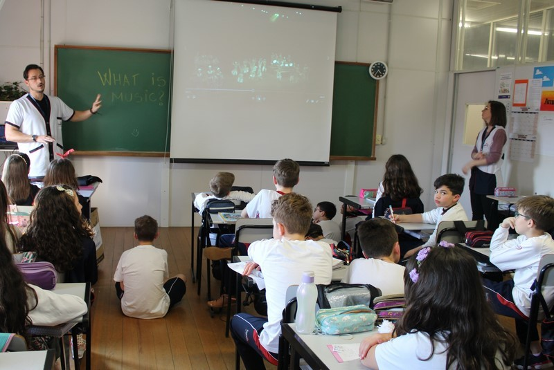 Língua Inglesa e a aula de Música
