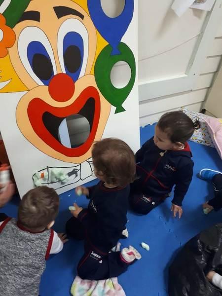 Aula de estimulação sensorial - Infantil I