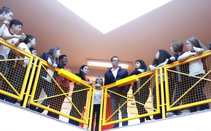 9ºs anos participam de Aula de Campo na UEPG