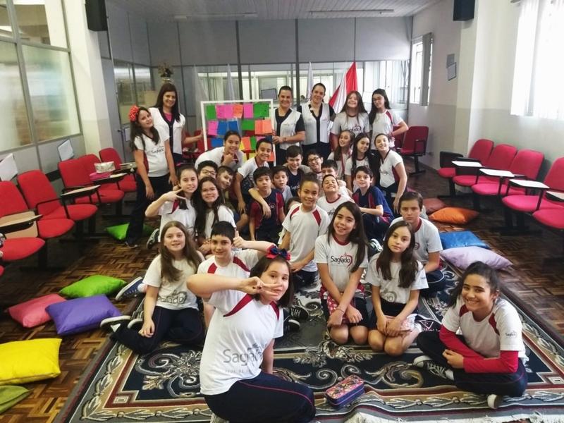 Serviços de Integração Social, de Orientação Escolar e de Pastoral Escolar se unem para trabalhar respeito e diversidade com educandos