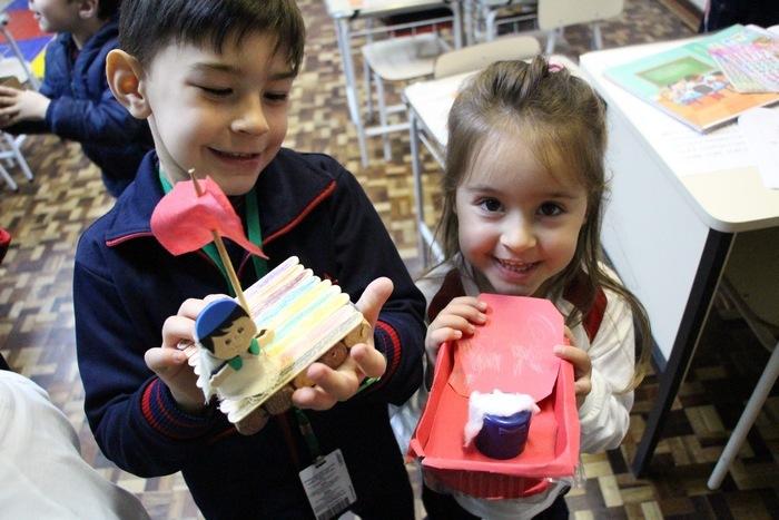 Intervenção Pastoral leva histórias da Bíblia para a Educação Infantil