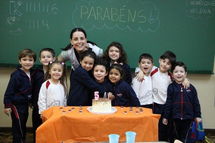 Educação Infantil celebra o Dom da Vida dos Aniversariantes de Setembro