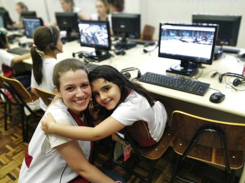 Normalistas da 3ª série do Curso de Formação de Docentes realizam regência nas turmas de Ensino Fundamental